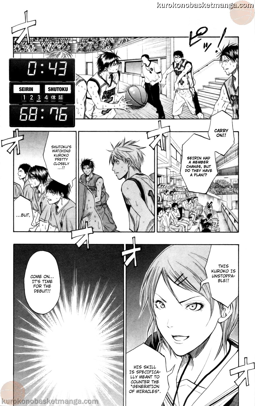 Kuroko no Basket Manga Chapter 90 - Image 07