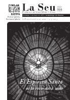 Hoja Parroquial Nº506 - El Espíritu Santo  os lo recordará todo. VI centenario de la erección de la Iglesia Colegial Basílica de Santa María de Xàtiva