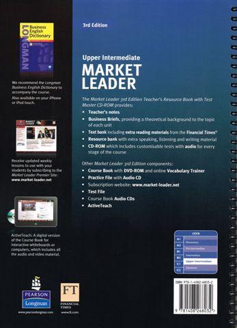 market leader upper intermediate 3rd edition teacher book pdf