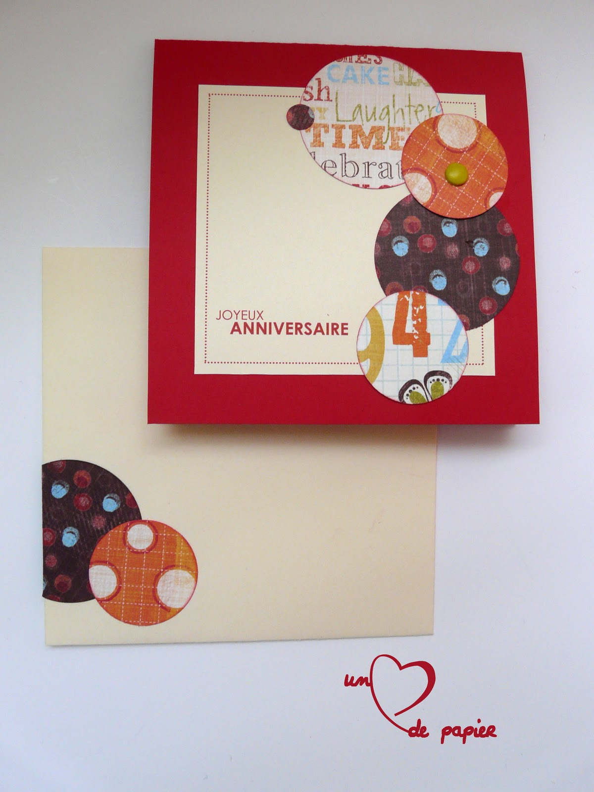 Un Coeur De Papier Birthday Bubbles