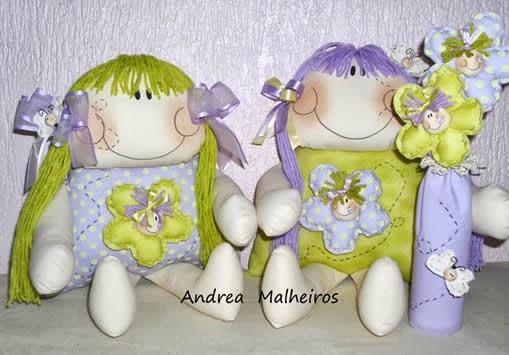 Bonecas de Pano Abelhinha