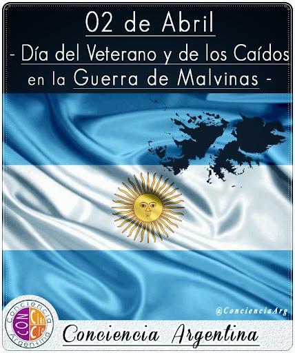 02 de Abril: Día del Veterano y de los Caídos en la Guerra de Malvinas