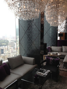 Top floor lounge