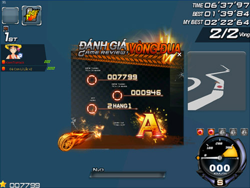 Zing Speed ra mắt hệ thống điểm thành tích cá nhân 2