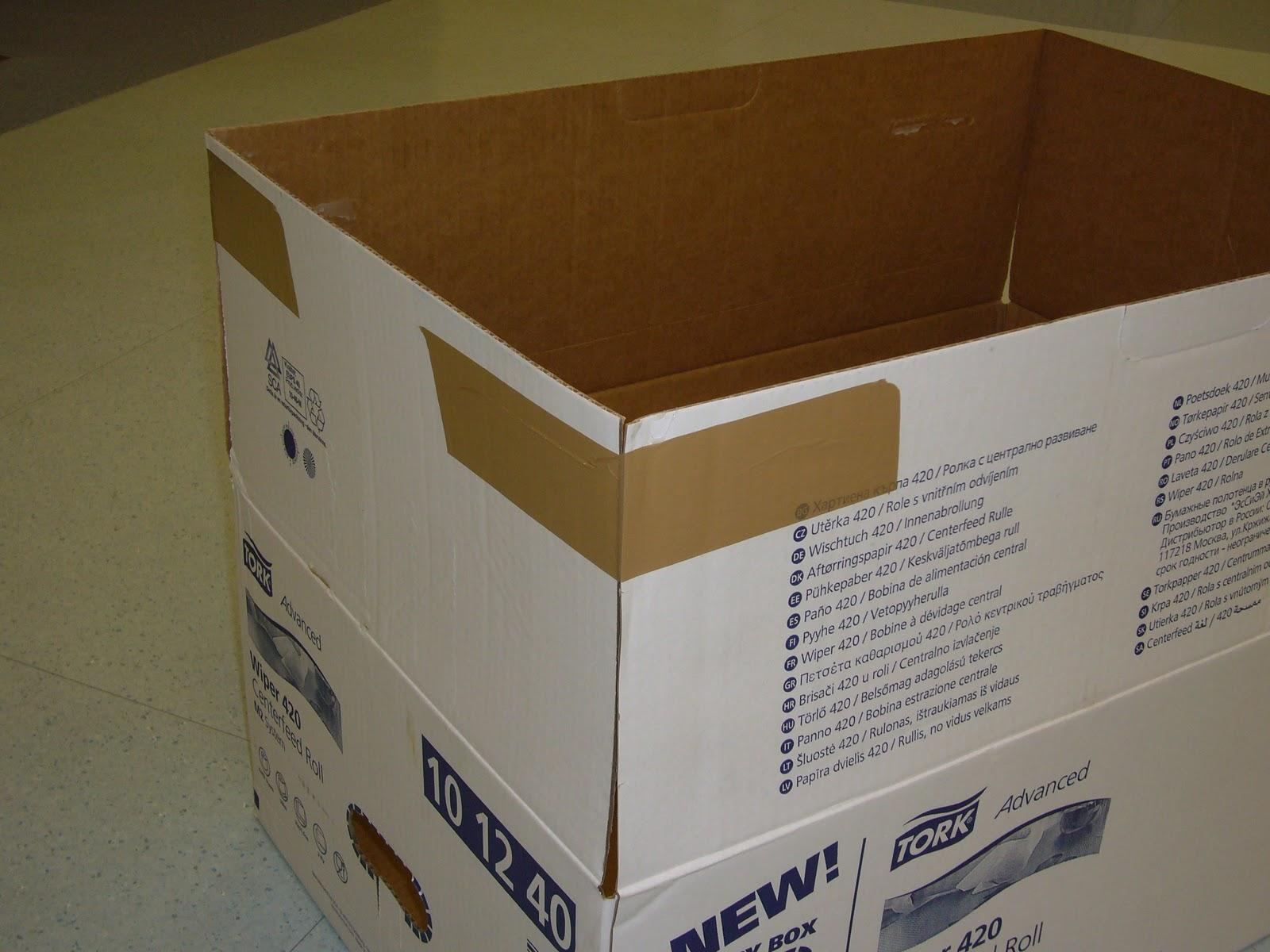 M s f cil de lo que cre as caballo de cart n - Como hacer una caja con carton ...