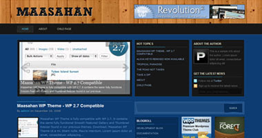 Maasahan WordPress Theme