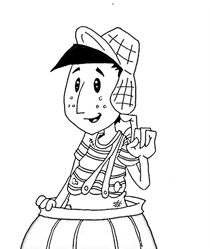 chavo coloring pages - photo#17