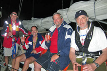 J/42 Keep It Simple - crew on Tortola, BVI - Carib 1500 Rally