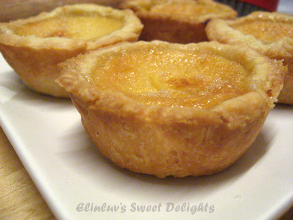 Elinluv's Sweet Delights: Burnt Caramel Custard Tartlets