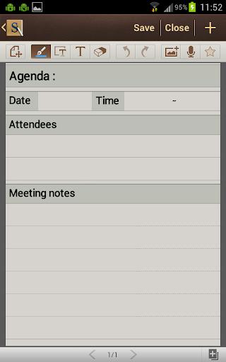 My Samsung Galaxy Note Journal: SGNote ICS Updates: S Note