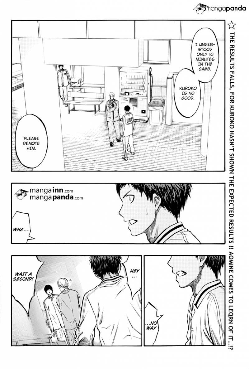 Kuroko no Basket Manga Chapter 209 - Image 02