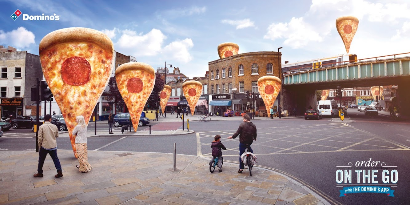 Domino's On The Go App Ad Campaign