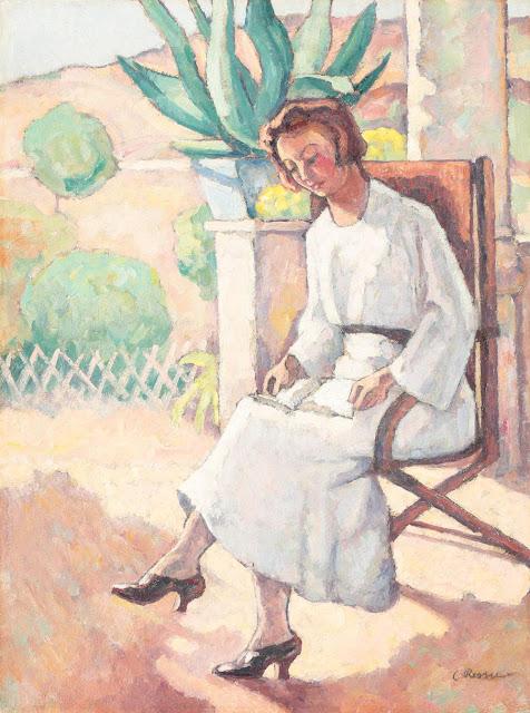 Camil Ressu - Pe terasă