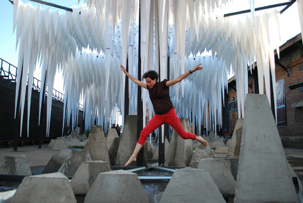 GUN architects's Water Cathedral Project