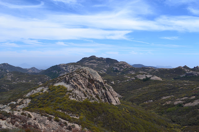 a distant peak