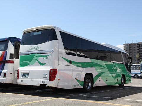 近鉄バス「おひさま号」 8255 リア
