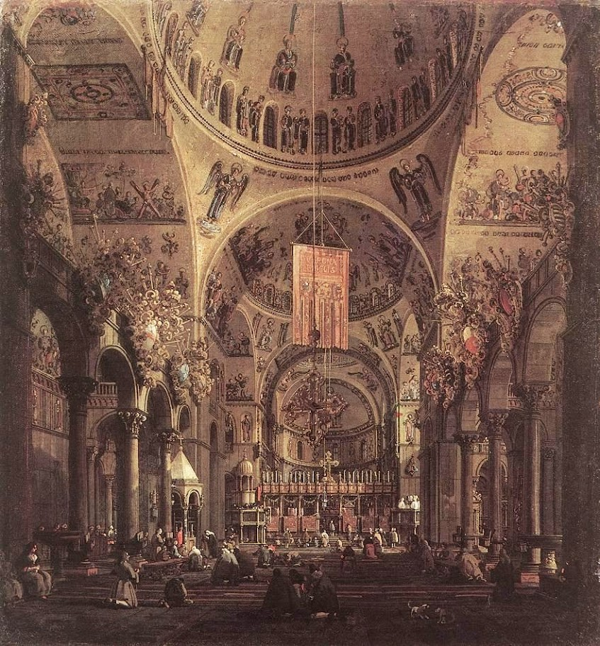 Canaletto - San Marco - the Interior