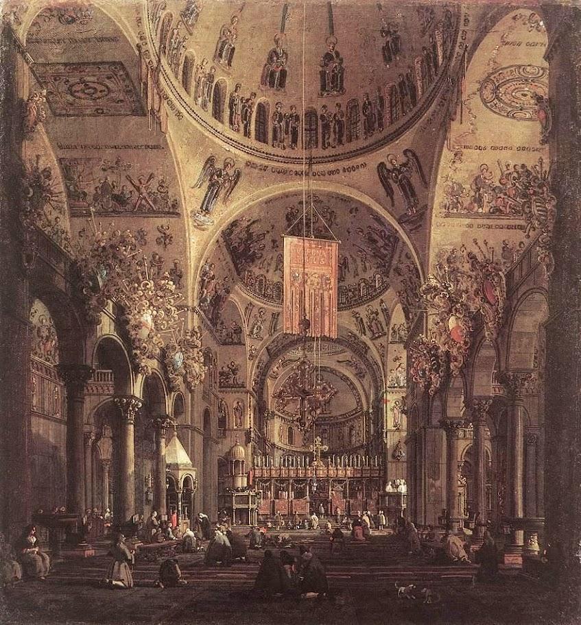 Canaletto - San Marco - the Interior
