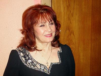 Певица Ксения Георгиади