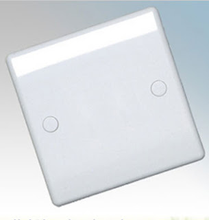 BG Nexus 894 - 1 Gang Blank Plate, single blanking plate