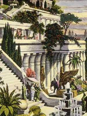 La favola della botte giardini pensili di babilonia - Giardini pensili immagini ...