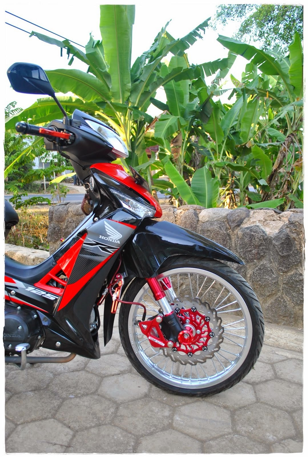 Modifikasi Honda Supra X 125 Minimalis