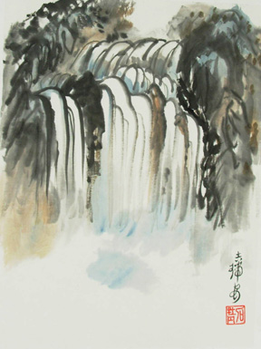 Jarien de Ham—Chinese Brush Painting
