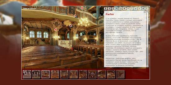 kościół pokoju - wirtualna wycieczka