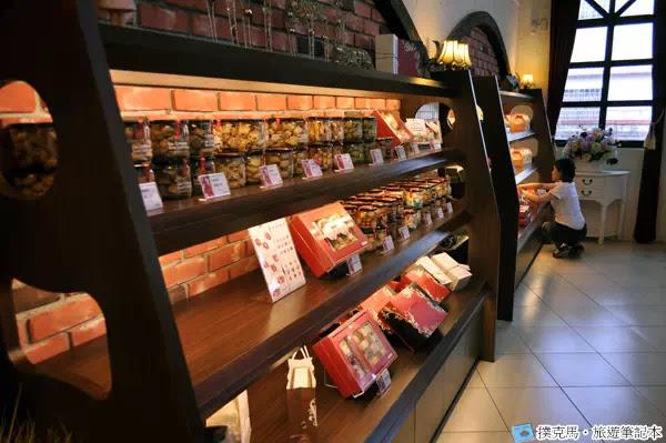 富林園洋菓子餅乾櫃