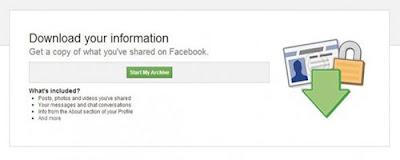 Cách Sao Lưu Dữ Liệu Tài Khoản Facebook An Toàn 2
