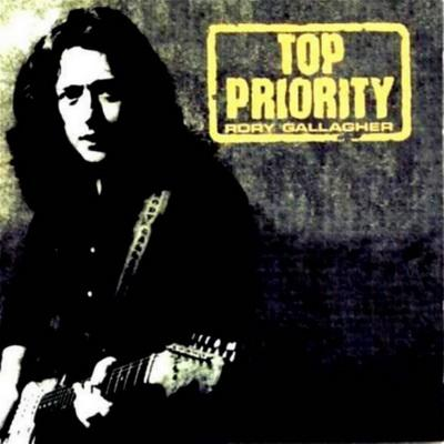 Rory Gallagher - Top Priority (1979) Cover