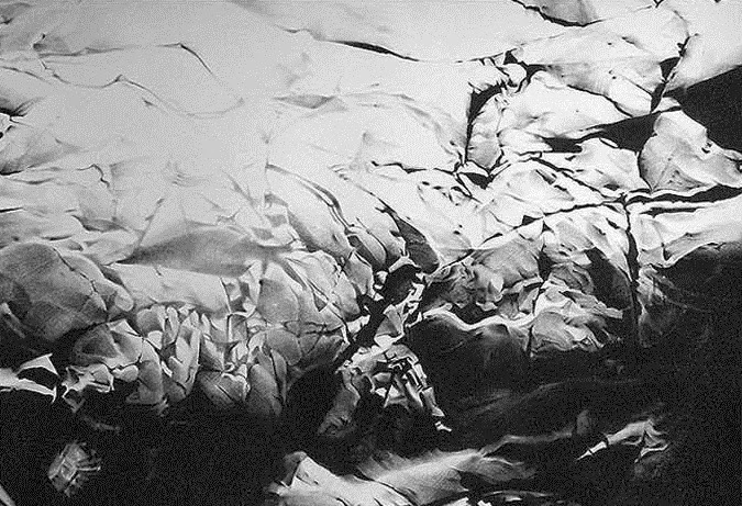 Rock drawings by Sylvain Levier
