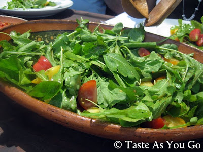 Los Tamarindos Salad at Los Tamarindos in Los Cabos, Mexico - Photo by Taste As You Go