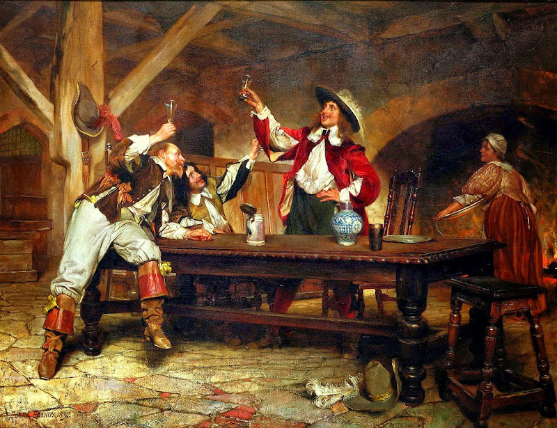 : Edgar Bundy - A toast to King Charles