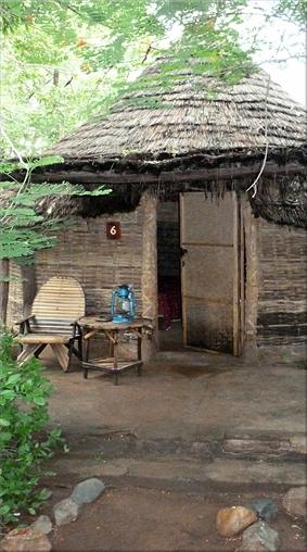 Cabaña del Campement de Badian