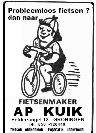 advertentie Ap Kuik