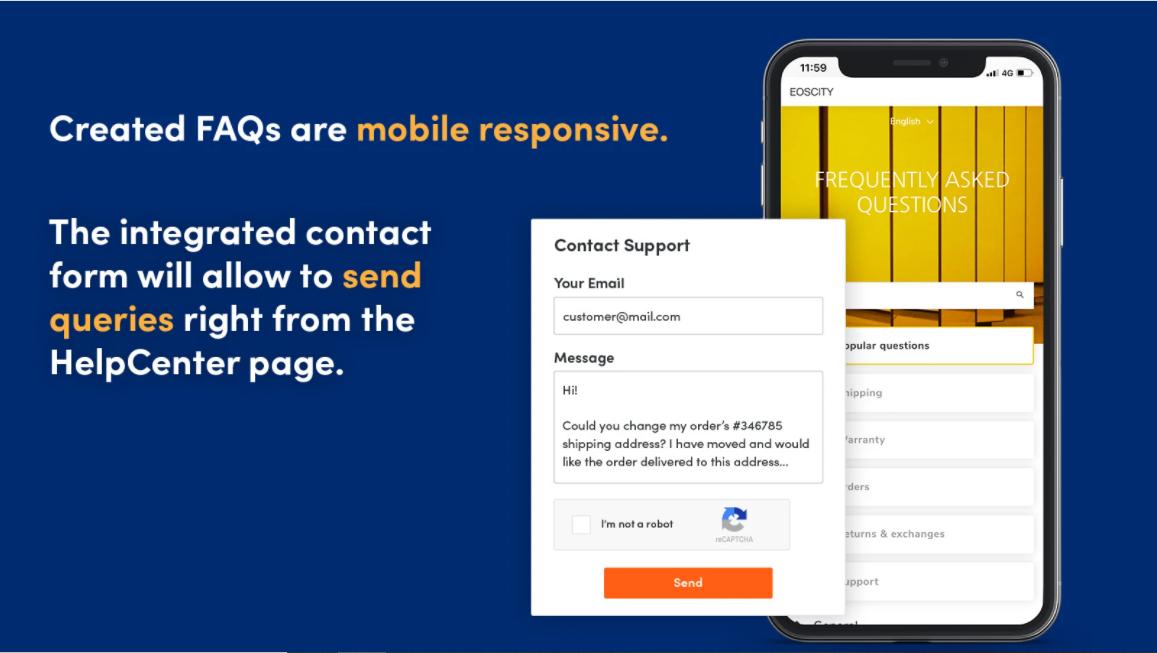 Shopify FAQ app