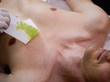 depilação para homens