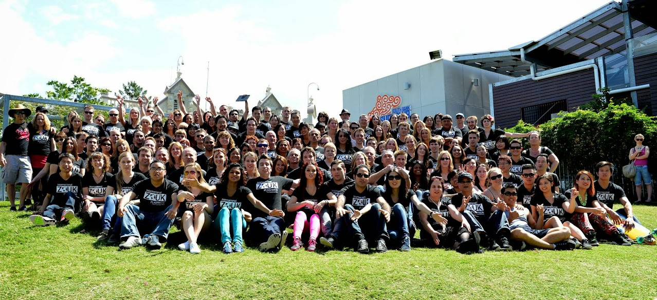 Post flash mob group photo