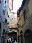 Only in Europe do you see alleys like this
