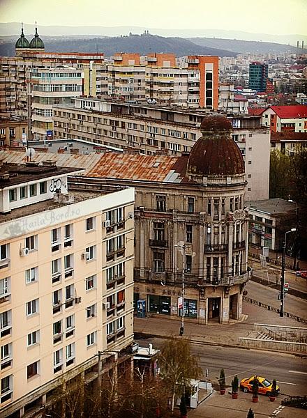 panorama de la hotel unirea iasi