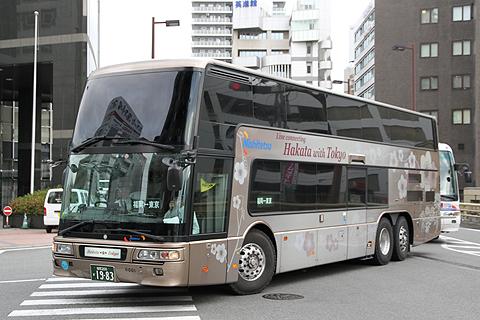 西日本鉄道 ハイグレード夜行バス「はかた号」 0001