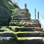 Staircase at Bogey Hole (341350)