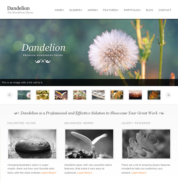 Dandelion Wedding Theme
