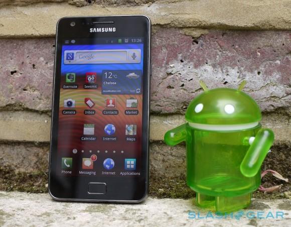 Samsung Galaxy S II ICS update