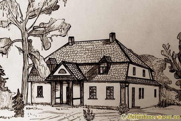 Будинок поміщика в селі Верхи (За описами старожилів)