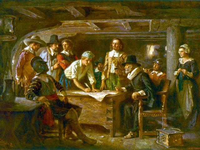 El Pacto del Mayflower - www.historiadelascivilizaciones.com