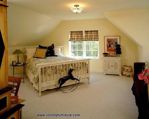 Các mẫu giường góc đẹp cho phòng ngủ nhỏ-1