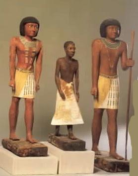 Мужская одежда египтян