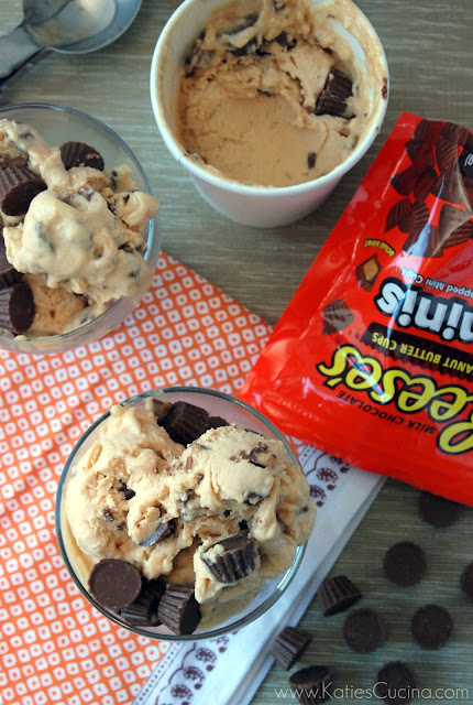 Peanut Butter Ice Cream with Peanut Butter Cups